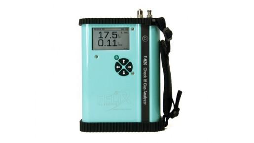 Портативный анализатор CO2 и O2 F-920 Check It
